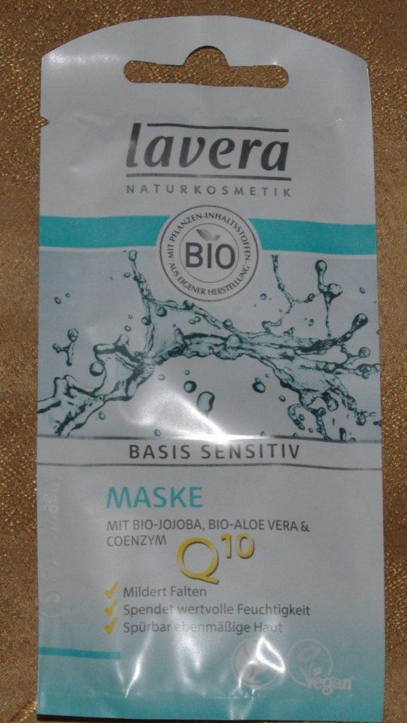 basis sensitiv Gesichtsmaske - mit Coenzym Q10